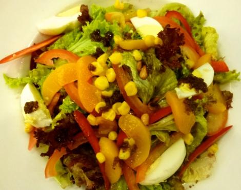 House salad. So beautiful!