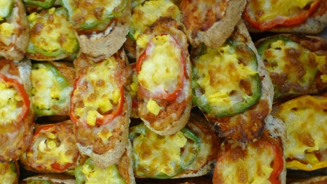 Organic Vegetarian Pizza… Really taste good!