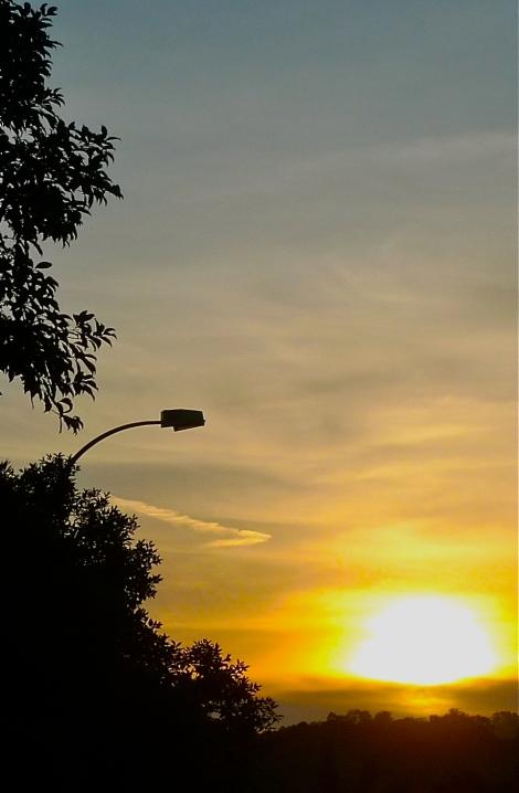 Beautiful sunset! The beauty of nature!