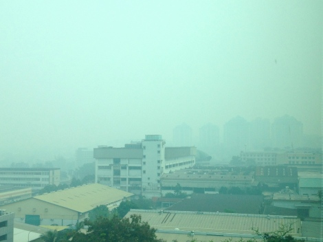 Be grateful when you are breathing clean air!