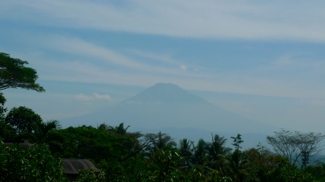 Beautiful mount sumbing from a distance...