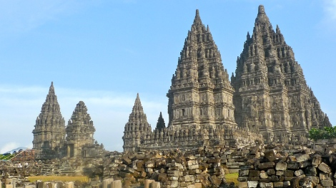How beautiful is the Prambanan temple!