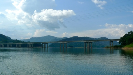 Once you passby the bridge which heading to Kota Bharu, east coast of Peninsular Malaysia.