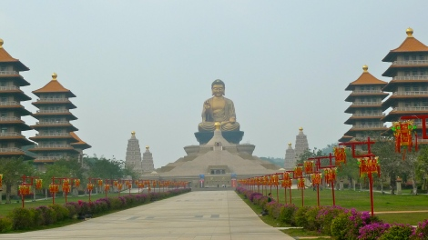 Buddha Memorial Centre, it's magnificent!