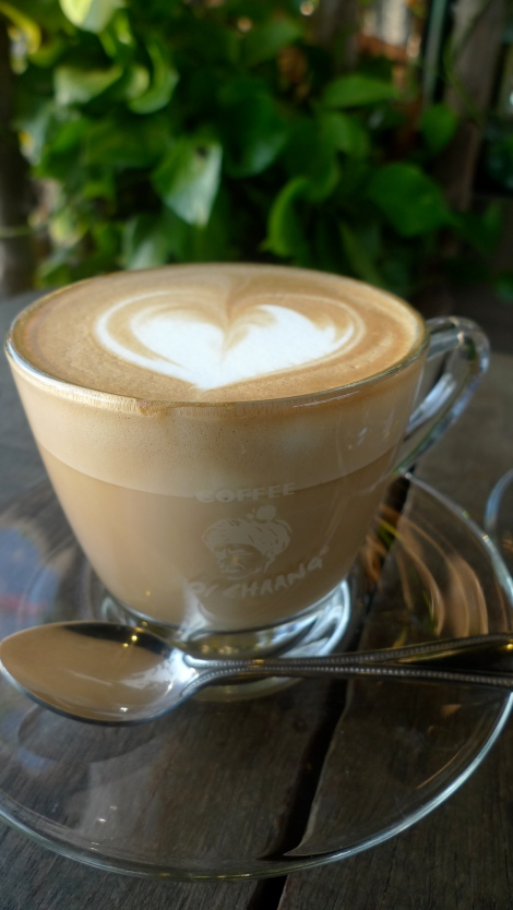How do you feel when you look this lovely coffee? Do you want to take a sip?