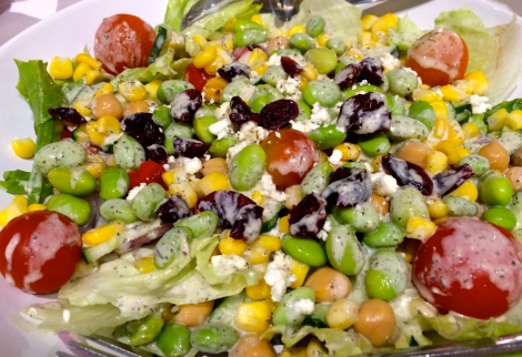 Why not start to enjoy a simple salad? Its give good nutrient to your body!