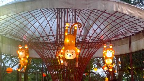 "The cute ""Monkey"" design lighting!"
