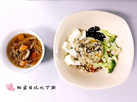 A simple lunch yet melted a person's heart with happiness, joy and satisfaction.