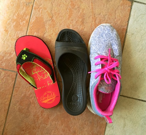 2 new items from Little Black again.... and we are looking for the owner of Puma shoe.